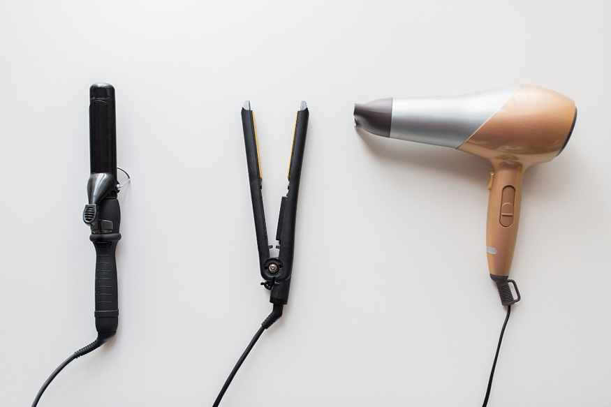Hair damaging tools to not use to prevent hair loss