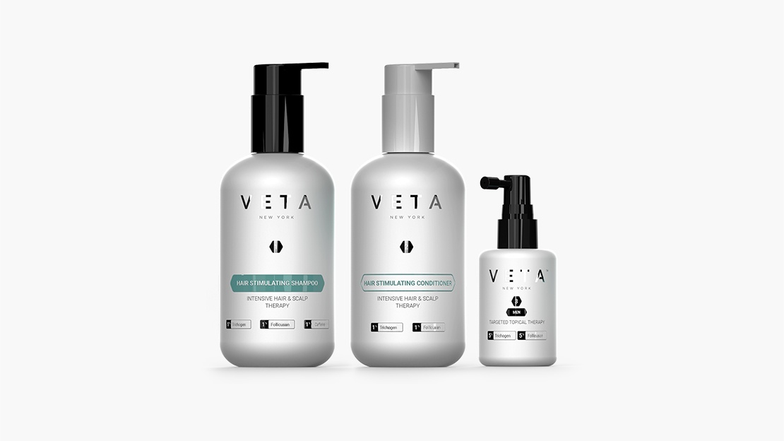 3-Step Veta Hair Growth System For Men
