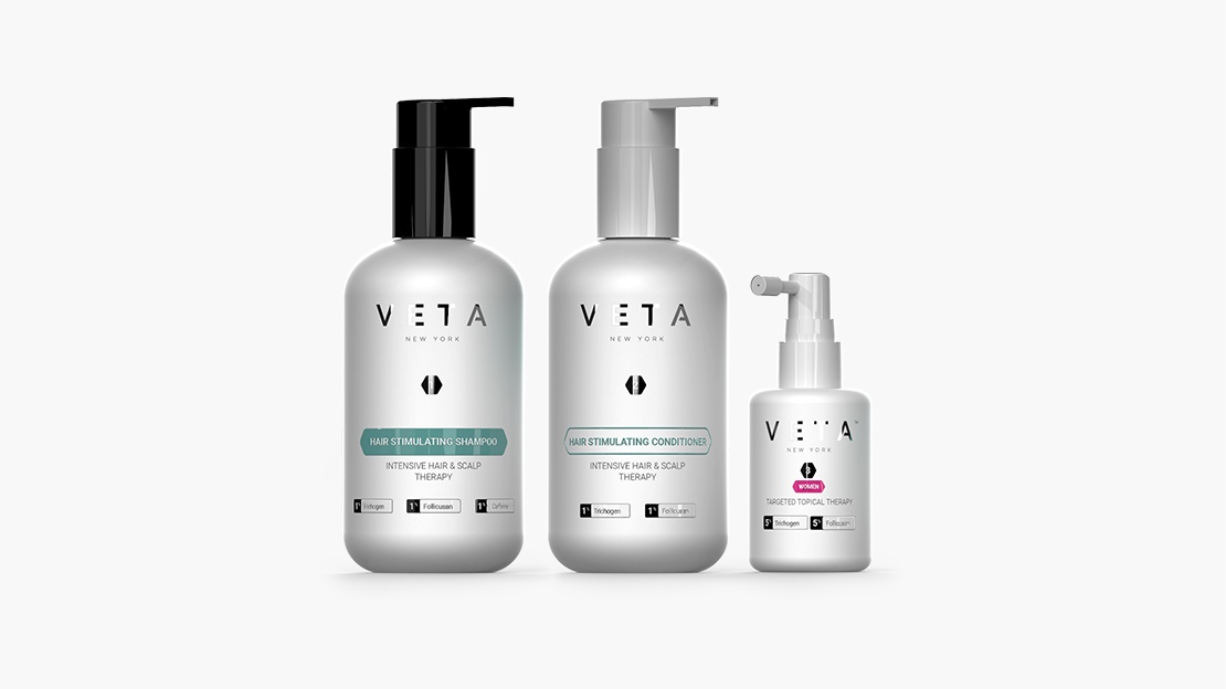3-Step Veta Hair Stimulating System For Women